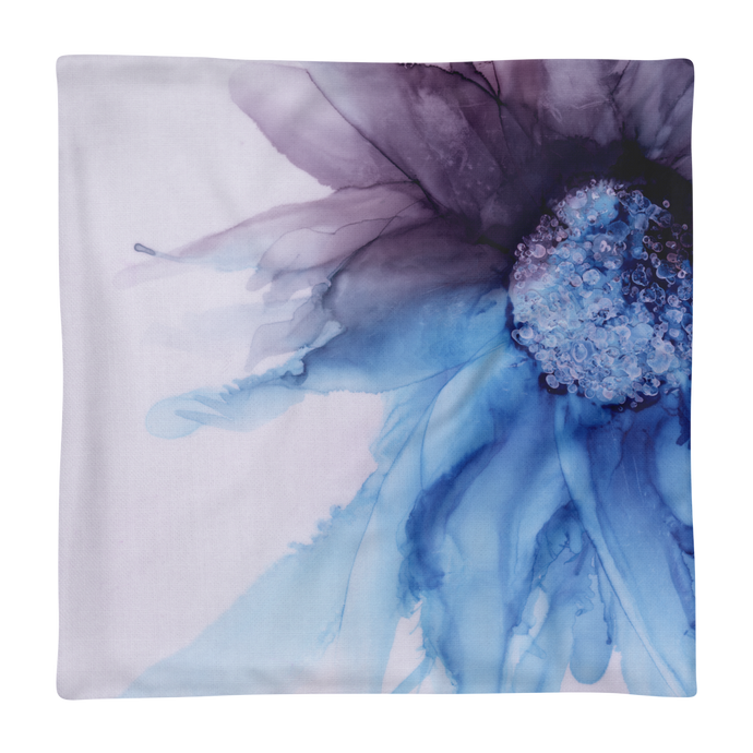 Premium Pillow Case:  Blue Moon