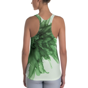 Women's Racerback Tank:  Green Queen