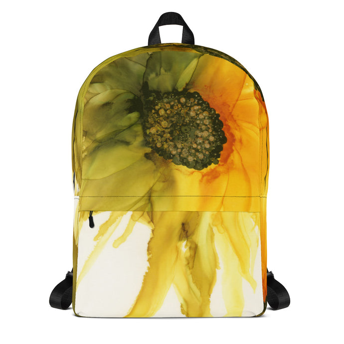 Backpack:  September Sunflower