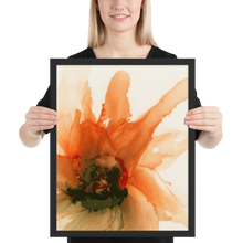 Load image into Gallery viewer, Framed poster:  Ophelia's Orange Orchid