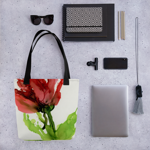 Tote bag:  Floppy Poppy