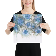 Load image into Gallery viewer, Frameless Poster:  Blue Rhapsody