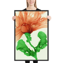 Load image into Gallery viewer, Framed poster:  Coral Crushed