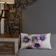 Load image into Gallery viewer, Premium Pillow:  Lavender Lights