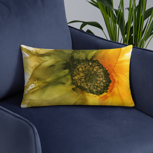 Basic Pillow:  September Sunflower