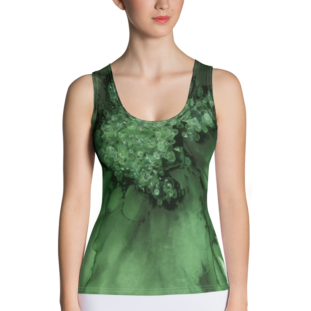 Tank Top:  Green Queen