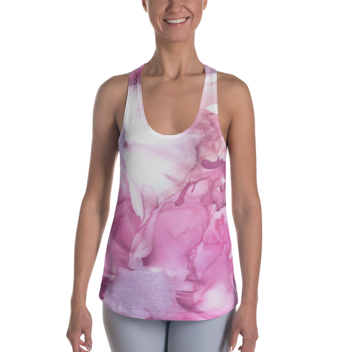 Women's Racerback Tank:  Pink Ladies