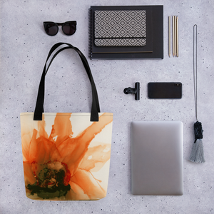 Tote bag:  Ophelia's Orange Orchid