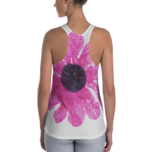 Load image into Gallery viewer, Women's Racerback Tank:  Dewy Blossom