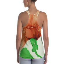 Load image into Gallery viewer, Women's Racerback Tank:  Coral Crushed
