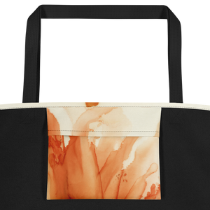 Tote with pocket:  Tangerine Tutu