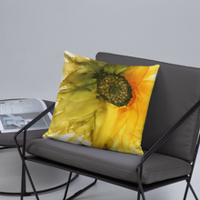 Load image into Gallery viewer, Basic Pillow:  September Sunflower