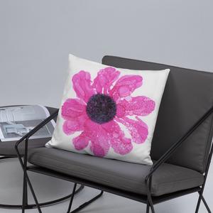 Basic Pillow:  Dewy Blossom