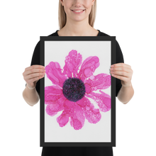 Load image into Gallery viewer, Framed poster:  Dewy Blossom