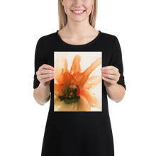 Load image into Gallery viewer, Frameless Poster:  Ophelia's Orange Orchid