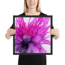 Load image into Gallery viewer, Framed poster:  Lady Magenta