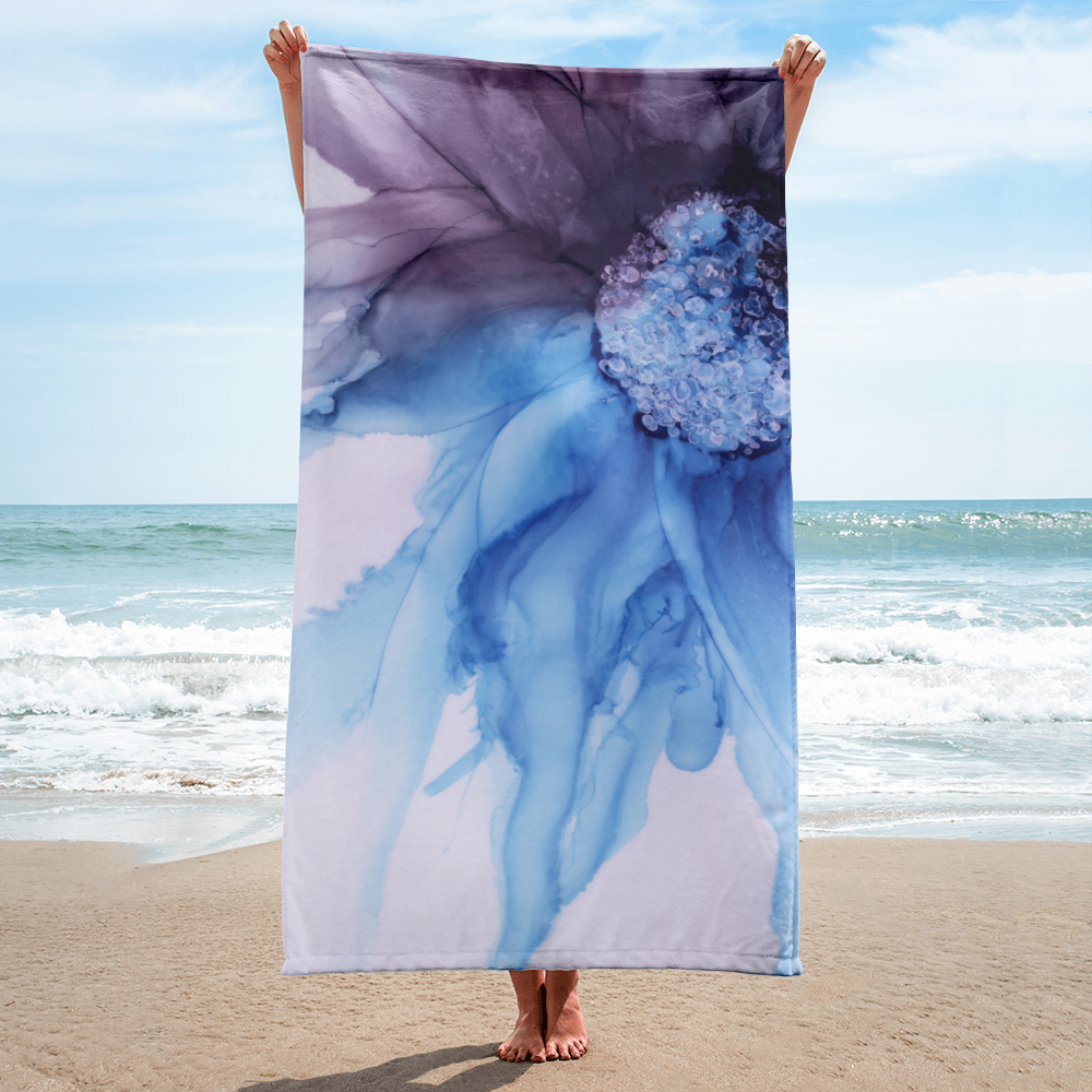 Towel:  Blue Moon