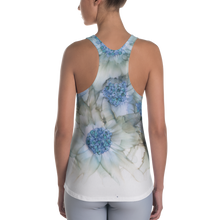 Load image into Gallery viewer, Women's Racerback Tank:  Blue Rhapsody