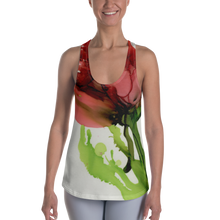 Load image into Gallery viewer, Women's Racerback Tank:  Floppy Poppy