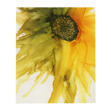 Load image into Gallery viewer, Throw Blanket:  September Sunflower