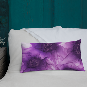 Premium Pillow:  Purple Phaze