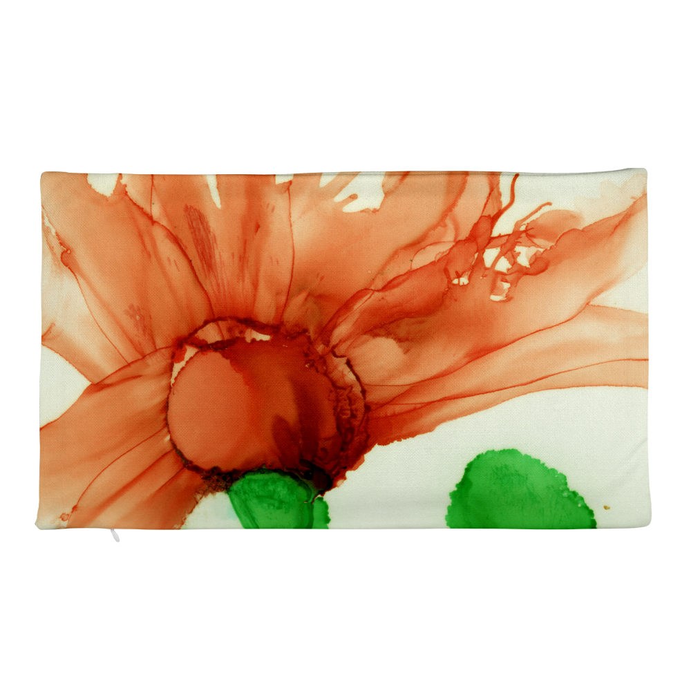 Premium Pillow Case:  Coral Crushed