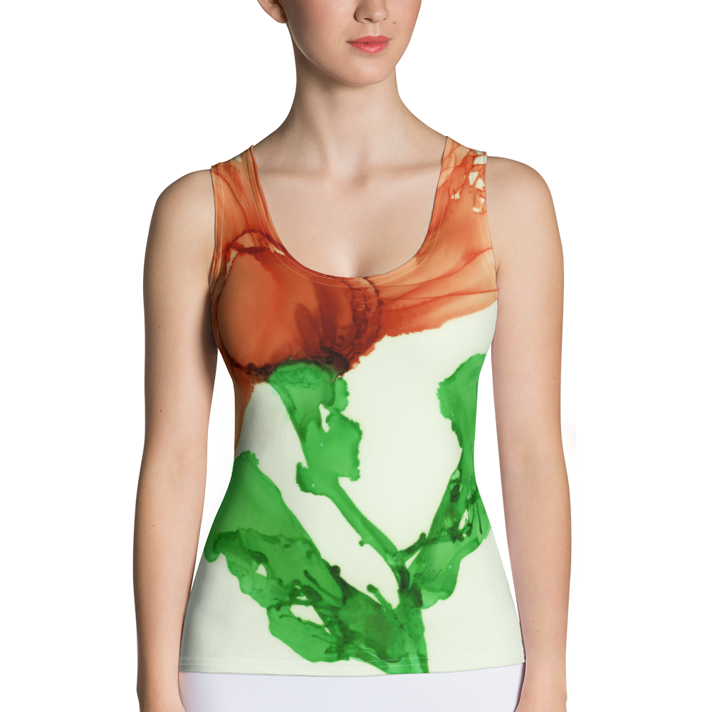 Tank Top:  Coral Crushed