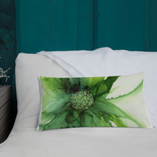 Load image into Gallery viewer, Premium Pillow:  Cyan Song