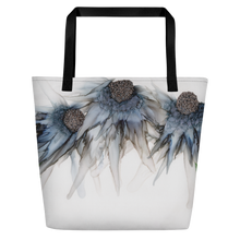 Load image into Gallery viewer, Tote with pocket:  Bleu Hens