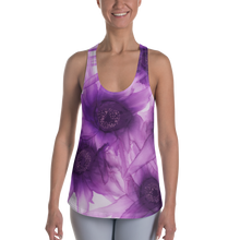 Load image into Gallery viewer, Women's Racerback Tank:  Purple Phaze