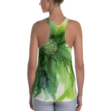 Load image into Gallery viewer, Women's Racerback Tank:  Cyan Song