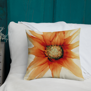 Premium Pillow:  Mandarin Orange
