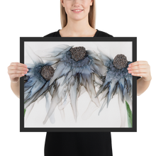 Load image into Gallery viewer, Framed poster:  Bleu Hens