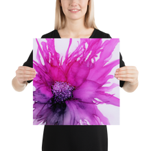Load image into Gallery viewer, Frameless Poster:  Lady Magenta
