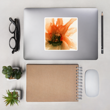 Load image into Gallery viewer, Bubble-free stickers:  Ophelia's Orange Orchid