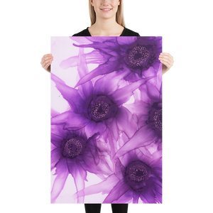 Unframed Poster:  Purple Phaze