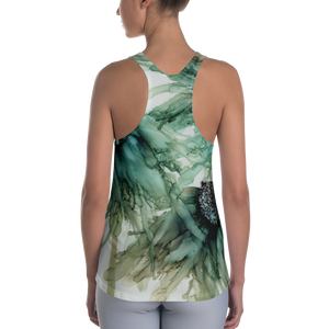 Women's Racerback Tank:  Three Sisters