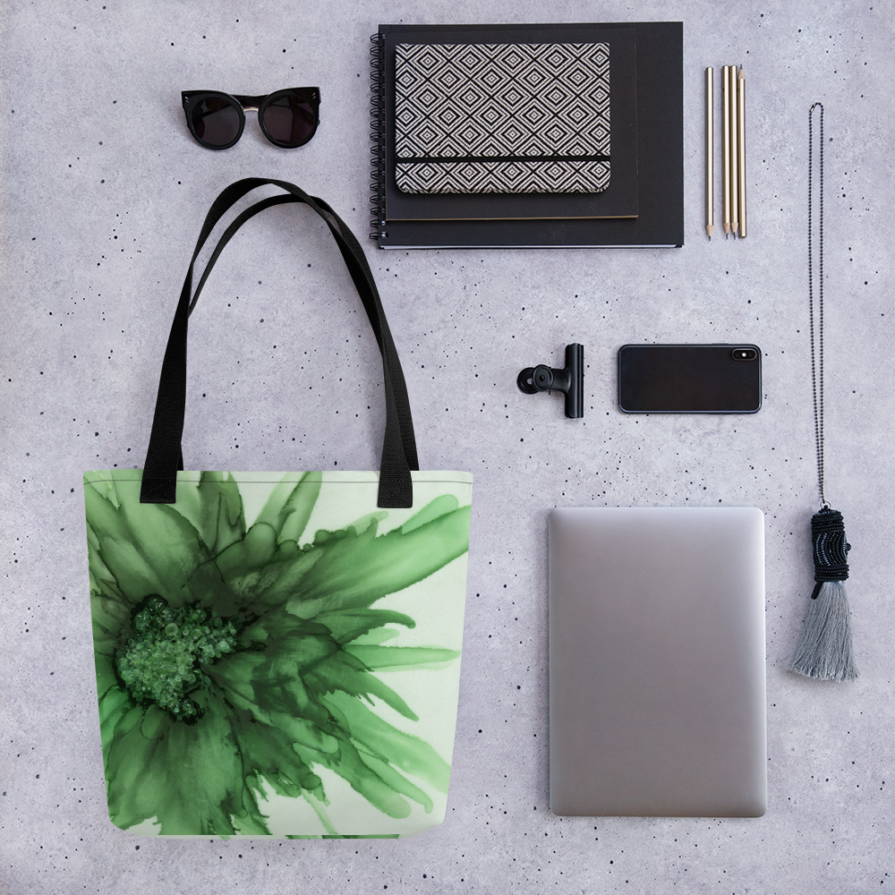 Tote bag:  Green Queen