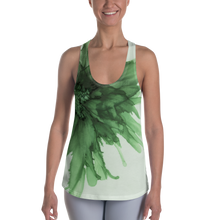 Load image into Gallery viewer, Women's Racerback Tank:  Green Queen