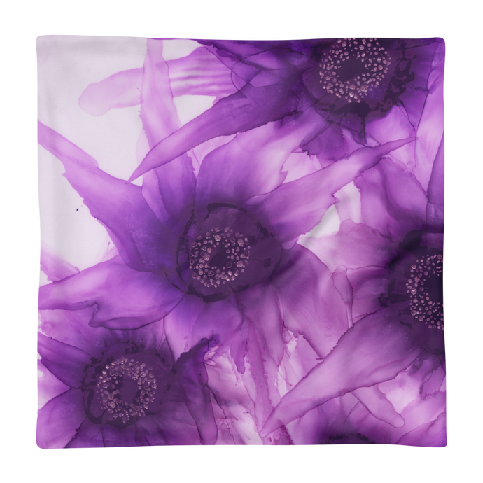 Basic Pillow Case:  Purple Phaze