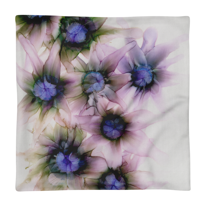 Premium Pillow Case:  Lavender Lights
