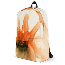 Load image into Gallery viewer, Backpack:Ophelia's Orange Orchid