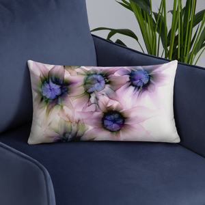 Basic Pillow:  Lavender Lights
