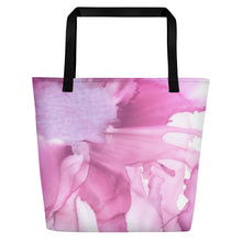 Load image into Gallery viewer, Tote with pocket:  Pink Ladies