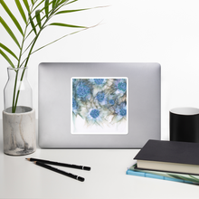 Load image into Gallery viewer, Bubble-free stickers:  Blue Rhapsody