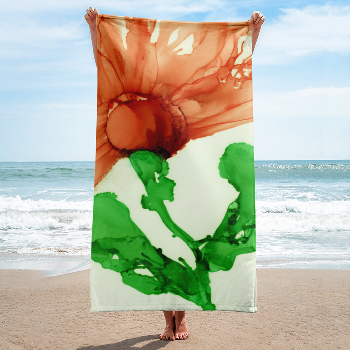 Towel:  Coral Crushed
