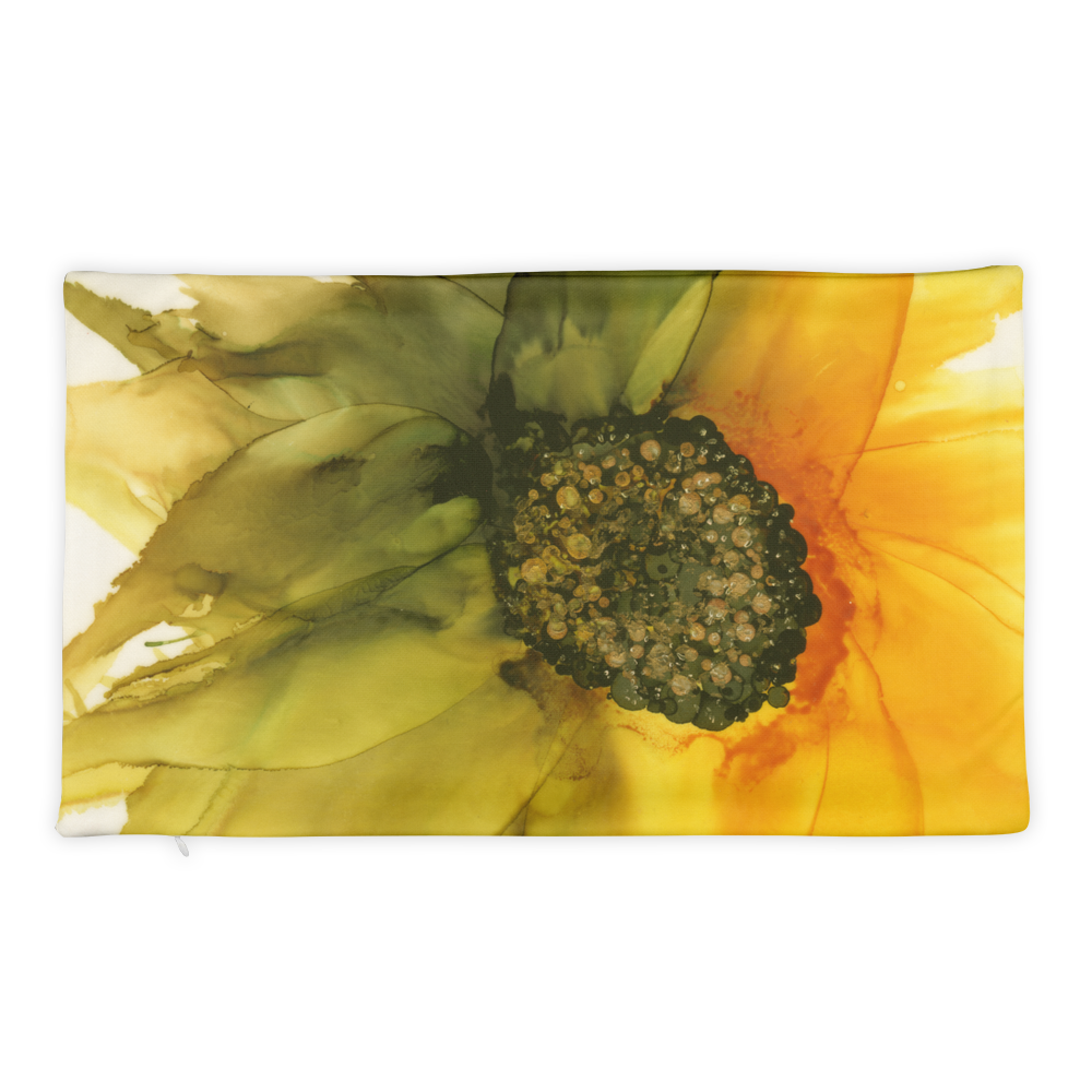 Basic Pillow Case:  September Sunflower