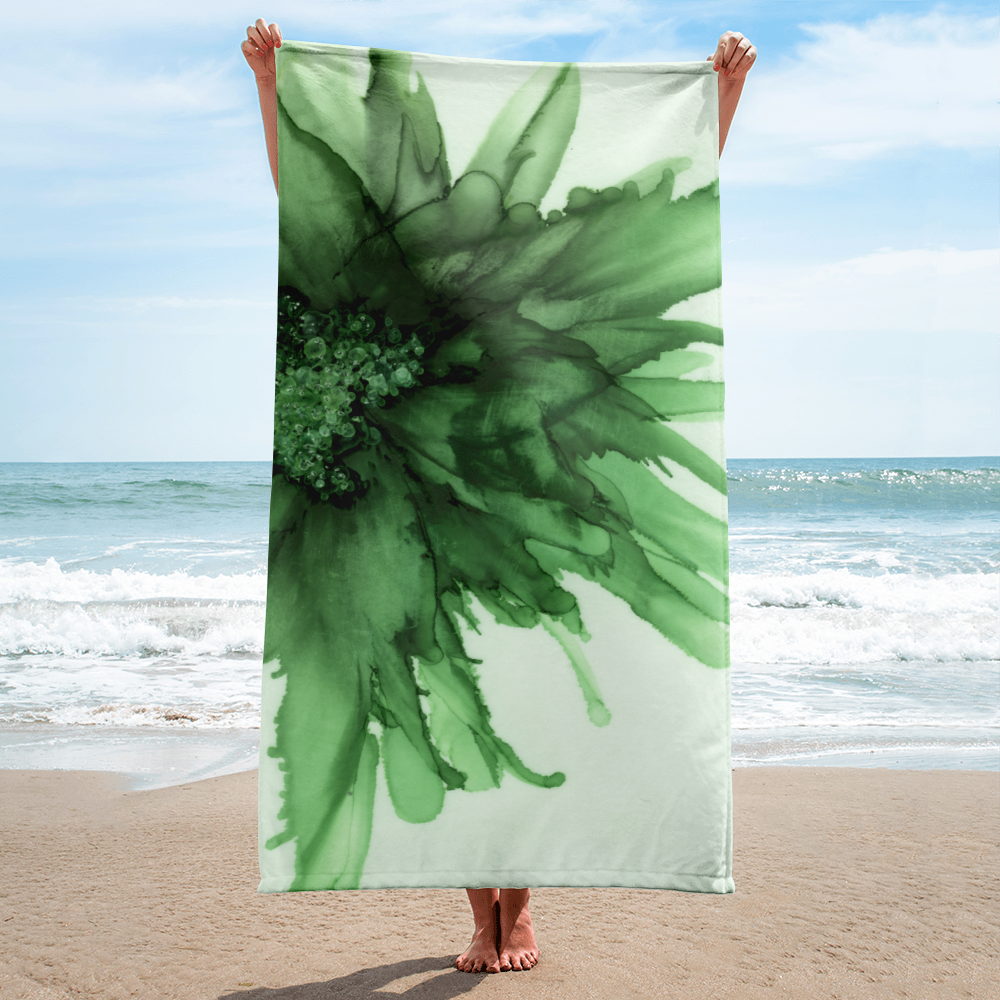 Towel:  Green Queen