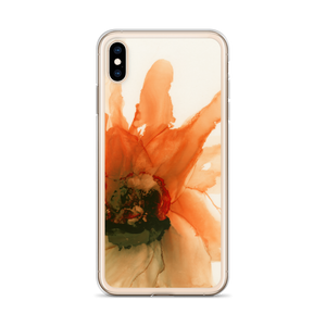 iPhone Case:  Ophelia's Orange Orchid