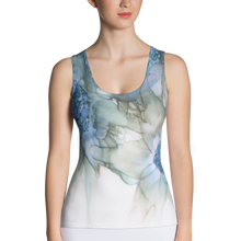 Load image into Gallery viewer, Tank Top:  Blue Rhapsody